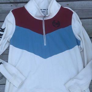 🎊🎉Pink Victoria's secrect color block sweater